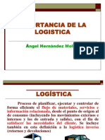 Importancia Logistica