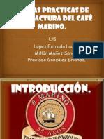 Buenas practicas de manufactura del café marino