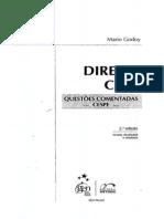 2009 Mario Godoy - Direito Civil - Questões Comentadas - CESPE