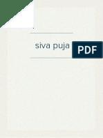 siva puja