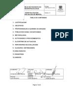 HSP-GU-314-018 Manejo de Paciente de Neuropsicologia