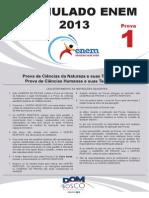 2013 1 Simulado Enem p1