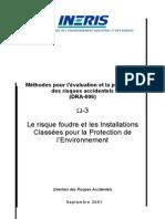 Risque Foudre DRA-006