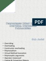 Polymorphism - Overiding & Overloading [Teori]