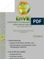 city planning, wind CFD modeling, solar radiation energy, insulation urban microclimate, outdoor thermal comfort, wind comfort, Envi project, 3D city models