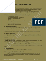 8143786956 - system admin interview Q&A - SHAIK BILAL AHMED
