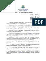 portarias rede cegonha -Ministério da Saúde