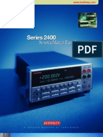 Keithley DMM 2400 Series