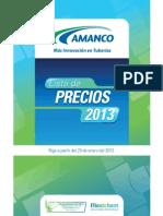 LISTA DE PRECIOS AMANCO ENERO 2013.pdf