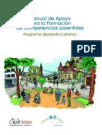 Manual Apoyo Formacion Competencias Parentales