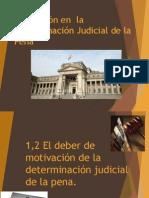 Motivación en  la determinación judicial de la pena.pptx