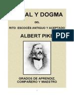 Albert Pike Moral y Dogma 1 2 y 3
