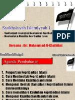MEMBANGUN KEPRIBADIAN ISLAM.ppt