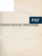 Descripción estadística Provincia de Chiloé