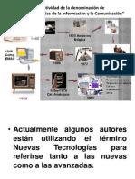1.5 Relatividad de la denominación de Nuevas Tecnologías de la Información y la Comunicación