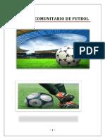 torneo comunitario de futbol