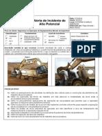 ACIDENTES - ESCAVAÇOES - Alerta HPI DE ORIGEM EXTERNA