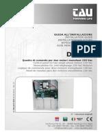 D_MNL0D750M Control de Portones Electricos