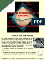 9. Formas de Crecimiento de Los Cristales