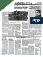 Diario La Vanguardia de Barcelona 2-11-1983