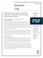 PDF Archiving