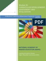 Curriculum Development, Assessment and Evaluation.pdf