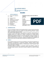 Silabus Actividad Formativa III