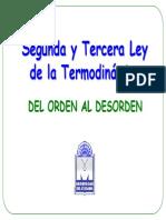 La Segunda Ley de la Termodinámica