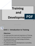 Unit 1 - Intrdn to Training.ppt