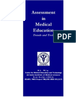Assessment in Medical Education ( India)