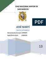 monografia José Martí