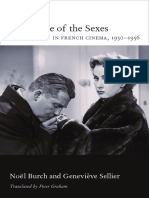 The Battle of the Sexes in French Cinema, 1930–1956 by Noël Burch