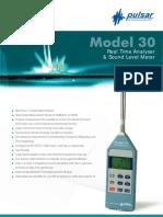 Pulsar Model 30 SONOMETRO