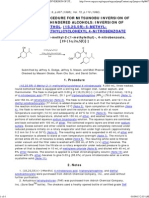 A GENERAL PROCEDURE FOR MITSUNOBU INVERSION OF STERICALLY HINDERED ALCOHOLS_ INVERSION OF MENTHOL. (1S,2S,5R)-5-METHYL-2-(1-METHYLETHYL)CYCLOHEXYL 4-NITROBENZOATE.pdf