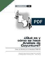 Qu Es y Cmo Se Hace Anlisis de Coyuntura - CEDIB - 29 p