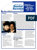 Dental Access Annual Report