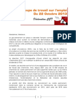 20131022 Decla GT Emploi