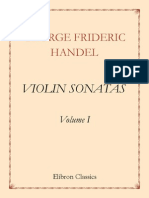 George Frideric Handel.violin Sonatas. Volume 1d