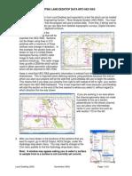 Exporting Land Desktop Data to HEC RAS