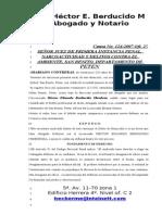 17 Propuesta de Abogado Defensor Julio 24 Del 20061