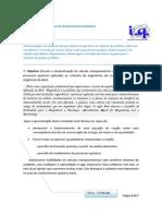 Bloco 2 - Estequiometria De Processos Reacionários