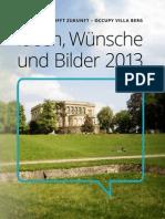 Occupy Villa Berg - Zwischenbericht 2013