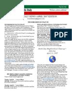 li april newsletter 2007