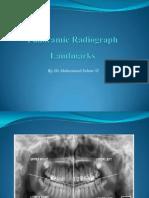 Panoramic Radiograph Landmarks1