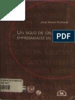 Un Siglo de Grupos Empresariales en Mexico, Jorge Basave Kunhard