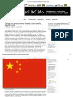 China_ de Crecimiento Fuerte a Desarrollo Equilibrado _ Manuel Bellido