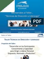 HCA_Taller Técnicas de Dirección y Liderazgo_PPP_130401-1930