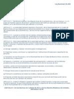 Ley Nacional 20