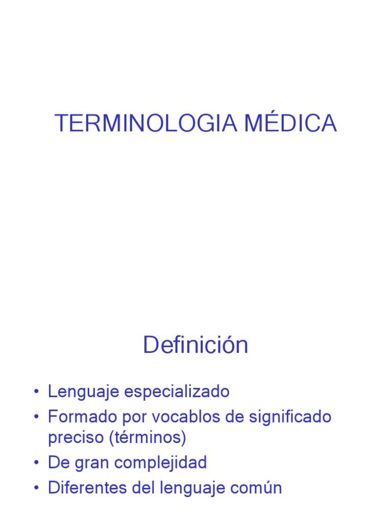 Terminologia Medica Eponimos Y Demas  Terminologia Medica Eponimos Y Demas