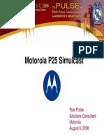 MotorolaP25 SimulcastAPCO2008
